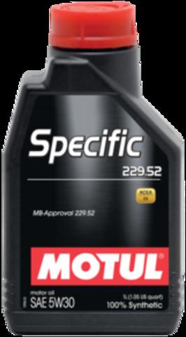 MOTUL SPECIFIC  229.52 5w30
