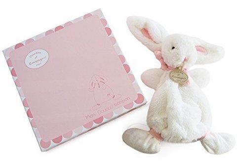 Doudou et Compagnie.Pink doudou rabbit - BONBON