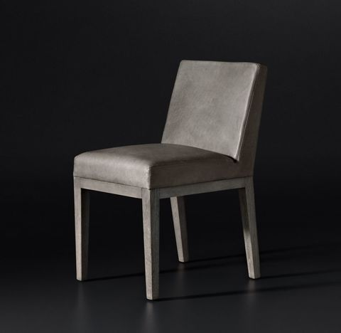 Morgan Leather Side Chair