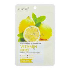 Eunyul Natural Moisture Mask Pack Vitamin - Маска тканевая с витаминами