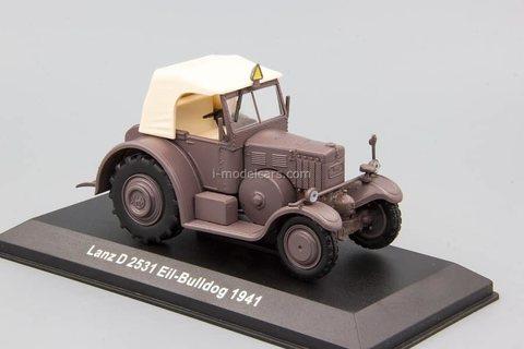 Tractor Lanz D 2531 Eil Bulldog 1941 1:43 Hachette #118