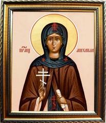 Михаила (Иванова), схимонахиня Преподобномученица. Икона на холсте.