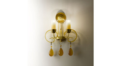 Italamp 451 AP2 Amber OA — Настенный накладной светильник