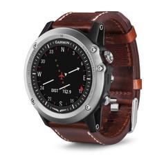 Умные авиационные часы Garmin D2 Bravo 010-01338-30 (кожа)