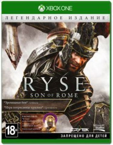 Microsoft Xbox One Ryse: Son of Rome Legendary Edition (русская версия)
