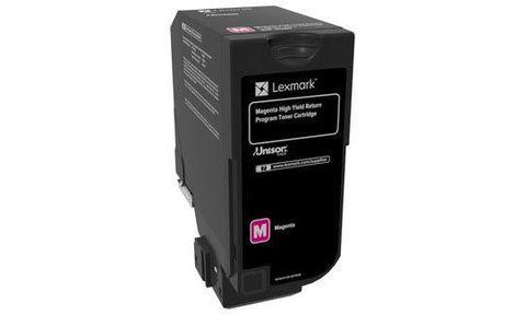 Тонер-картридж для принтеров Lexmark CX725 пурпурный (magenta). Ресурс 16000 стр (84C5HM0)