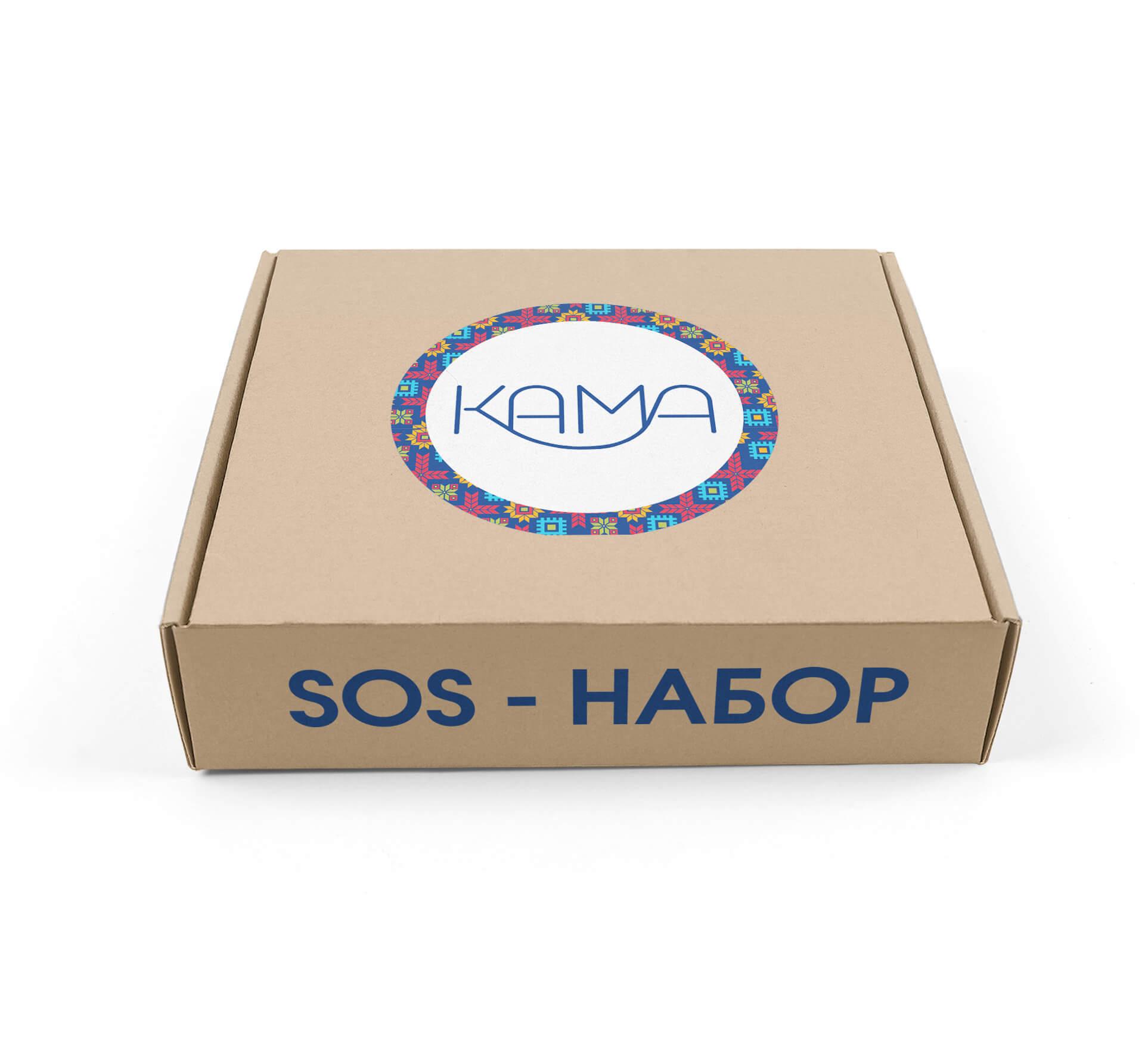 SOS-набор для первой помощи.