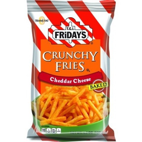 TGI Friday's Crunchy fries Cheddar cheese с сыром чеддер 127 гр