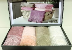 Набор полотенец  PASSION - ПАССИОН  в размере 30*50 / Maison Dor (Турция).