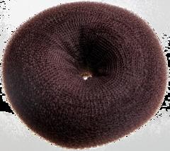 Валик круглый для создания причёсок коричневый