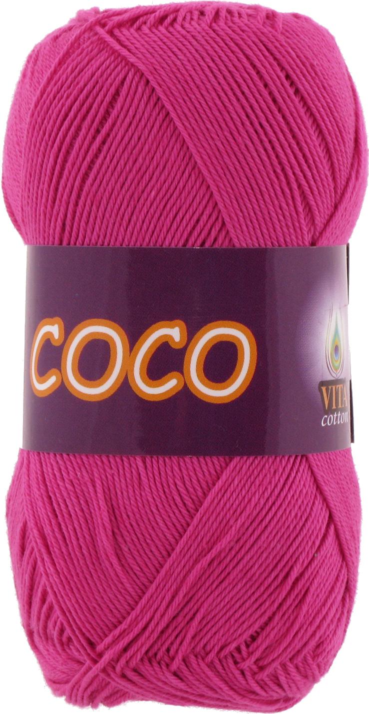 Пряжа Vita Coco фуксия 3885
