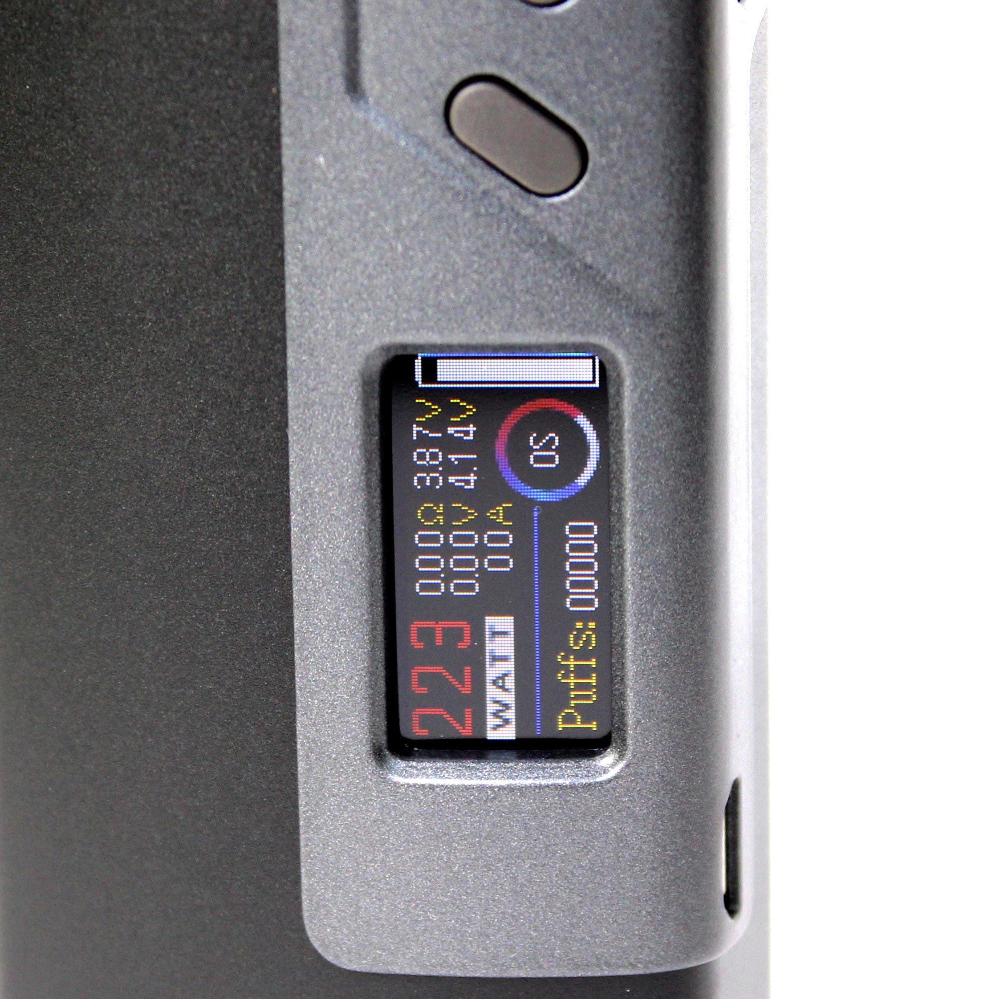 БOKCMOД Sigelei Fuchai 213W TC Plus дисплей