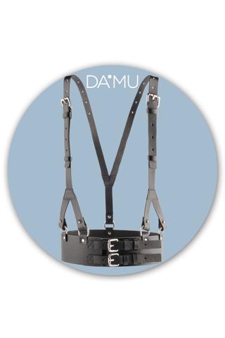 Портупея с двойным ремнем DA'MU 0210