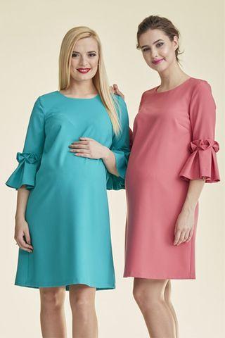 Платье для беременных 08829 бирюзовый
