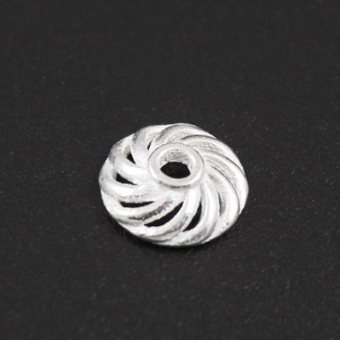 Шапочка Медуза 8,5 мм серебро 925 1 шт
