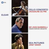 Jacqueline Du Pre, Janet Baker, London Symphony Orchestra, Sir John Barbirolli / Elgar: Cello Concerto, Sea Pictures (LP)