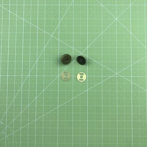 Магнитная кнопка (Бронза) с креплением