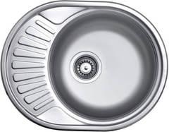 Мойка КромРус ЕС-457 для кухни из нержавеющей стали, левая