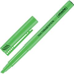 Маркер выделитель текста ATTACHE зеленый 1-3мм.
