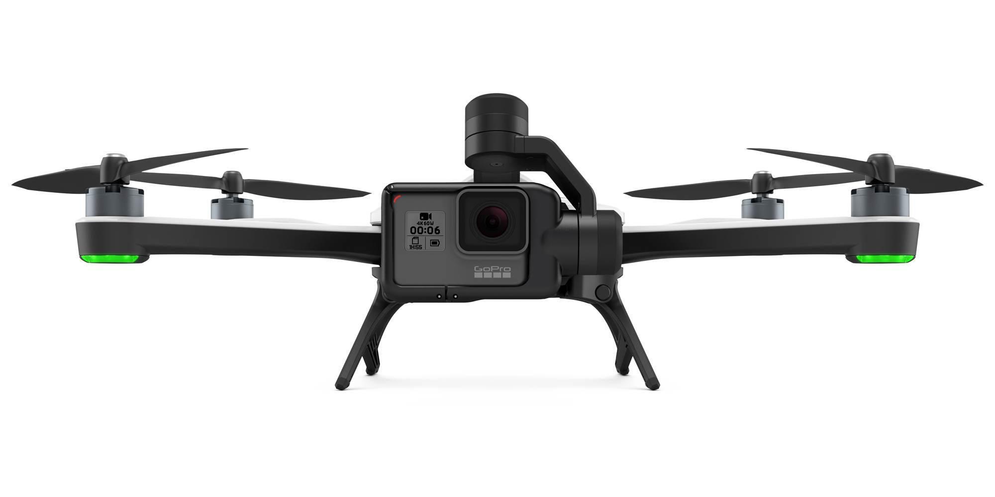 Квадрокоптер GoPro Karma + камера HERO6 Black (QKWXX-601-EU) вид спереди