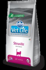 Ветеринарный корм для кошек FARMINA Vet Life STRUVITE при струвитах