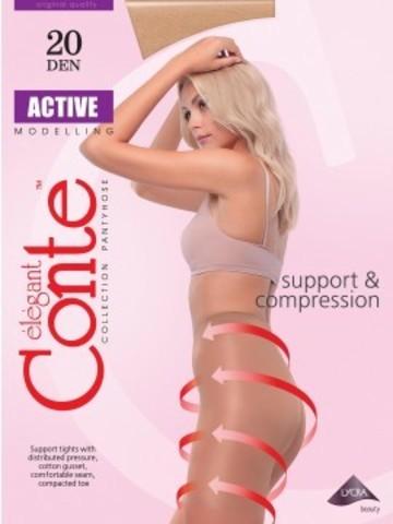 Conte Active Колготки женские 20d, p.4 bronz