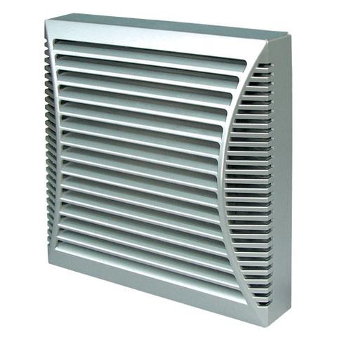 Накладной вентилятор Blauberg Brise 100 Platinum (серебристый металлик)