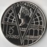 2001 P3147 Великобритания 5 фунтов 100 лет со дня смерти королевы Виктории