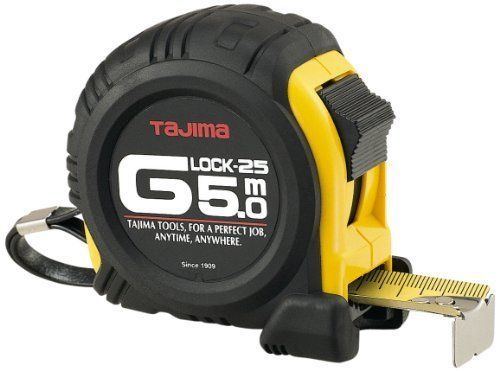 Рулетка  5м 25мм  G LOCK Tajima G5P50MY