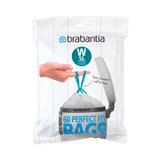 Пакет пластиковый 5 л 60 шт, артикул 116827, производитель - Brabantia