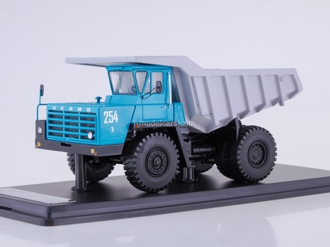 BELAZ-540A dumper blue-gray 1:43 Start Scale Models (SSM)