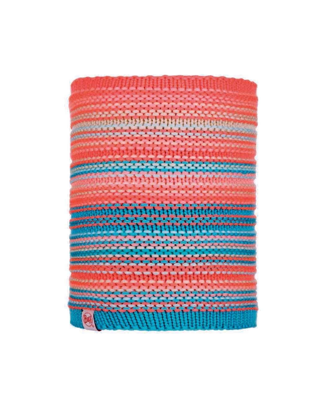 Шарф-труба вязаный с флисовой подкладкой детский Buff Neckwarmer Knitted Polar Amity Coral Pink Jr