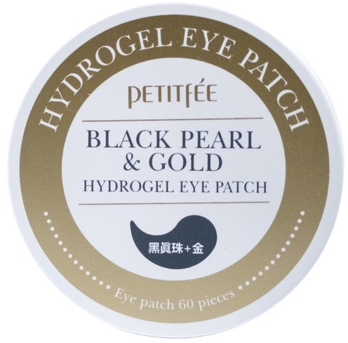 Petitfee Black Pearl & Gold Hydrogel Eye Patch патчи для глаз