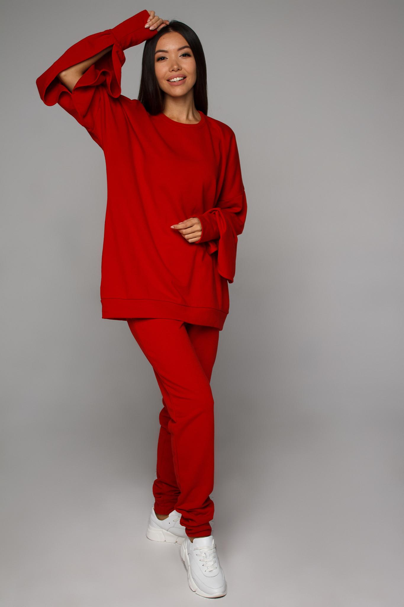 Cвитшот красный (верх от костюма) YOS