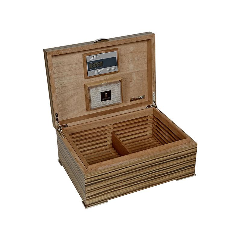 Хьюмидор для сигар Artwood Zebrano AW-01-43
