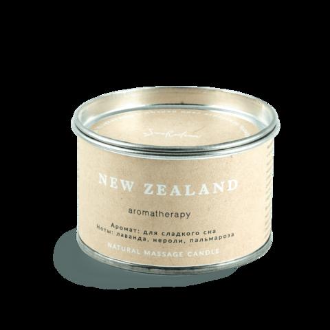 Свеча для аромамассажа - снятие стресса Новая Зеландия, SmoRodina