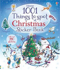 1001 Christmas Things to Spot - Sticker Book