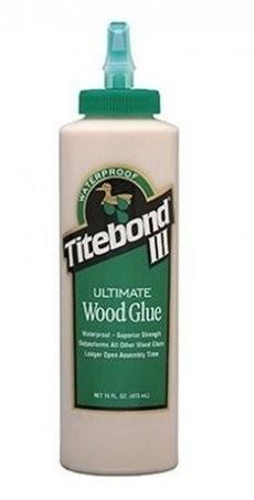 Клей для дерева водостойкий Titebond III Ultimate Wood Glue 473мл