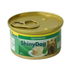 Gimborn Консервы Shiny Dog с цыплёнком для собак