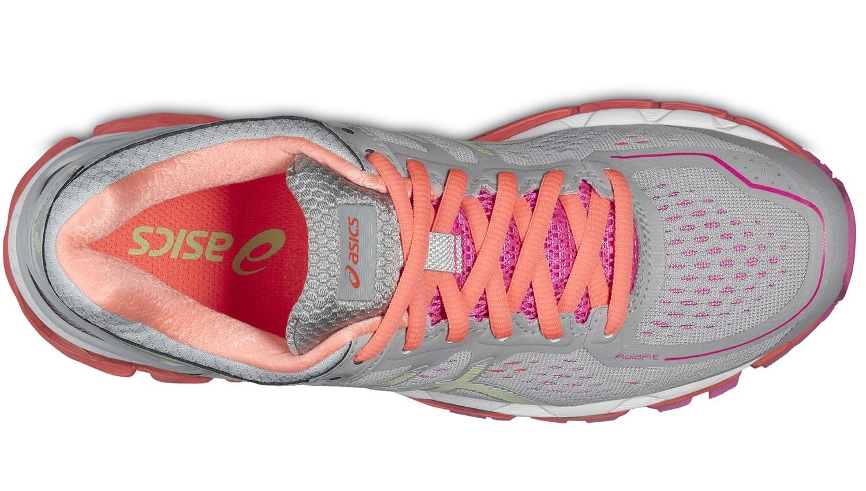 Женские беговые кроссовки Asics Gel-Kayano 22 (T597N 1087) серые