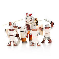 Игрушечные солдатики Крестоносцы