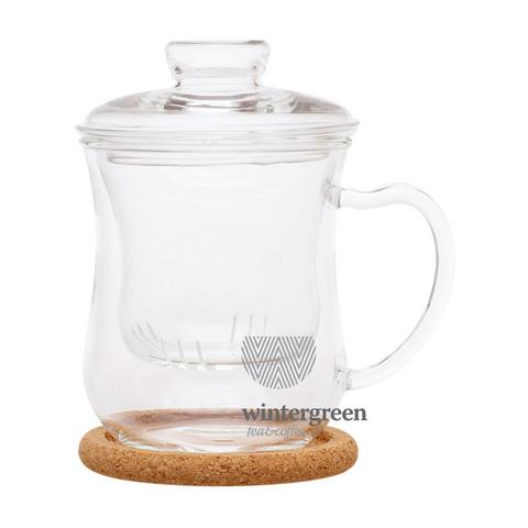 Чашка из жаропрочного стекла