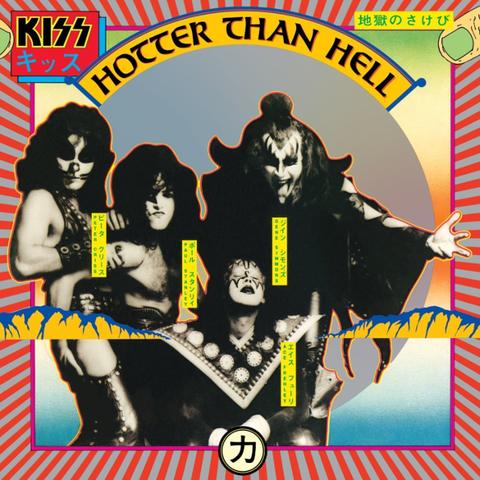 Kiss / Hotter Than Hell (LP)