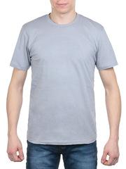 3366-2 футболка мужская, серая