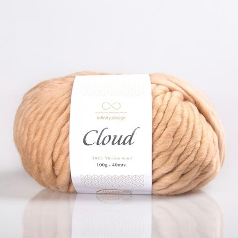 Пряжа Infinity Cloud 0073 теплый беж