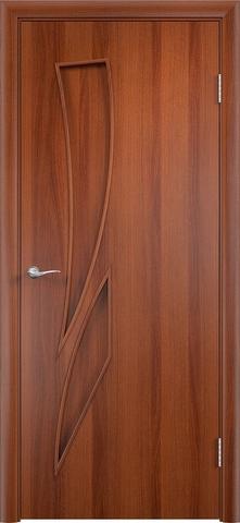 Дверь Сибирь Профиль Стрелиция (С-2), цвет итальянский орех, глухая