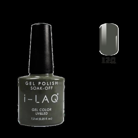 Гель лак для ногтей I-laq  120, 7,3 мл.