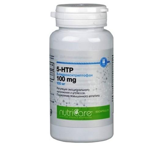 5- Гидрокситриптофан 100мг, капсулы 60