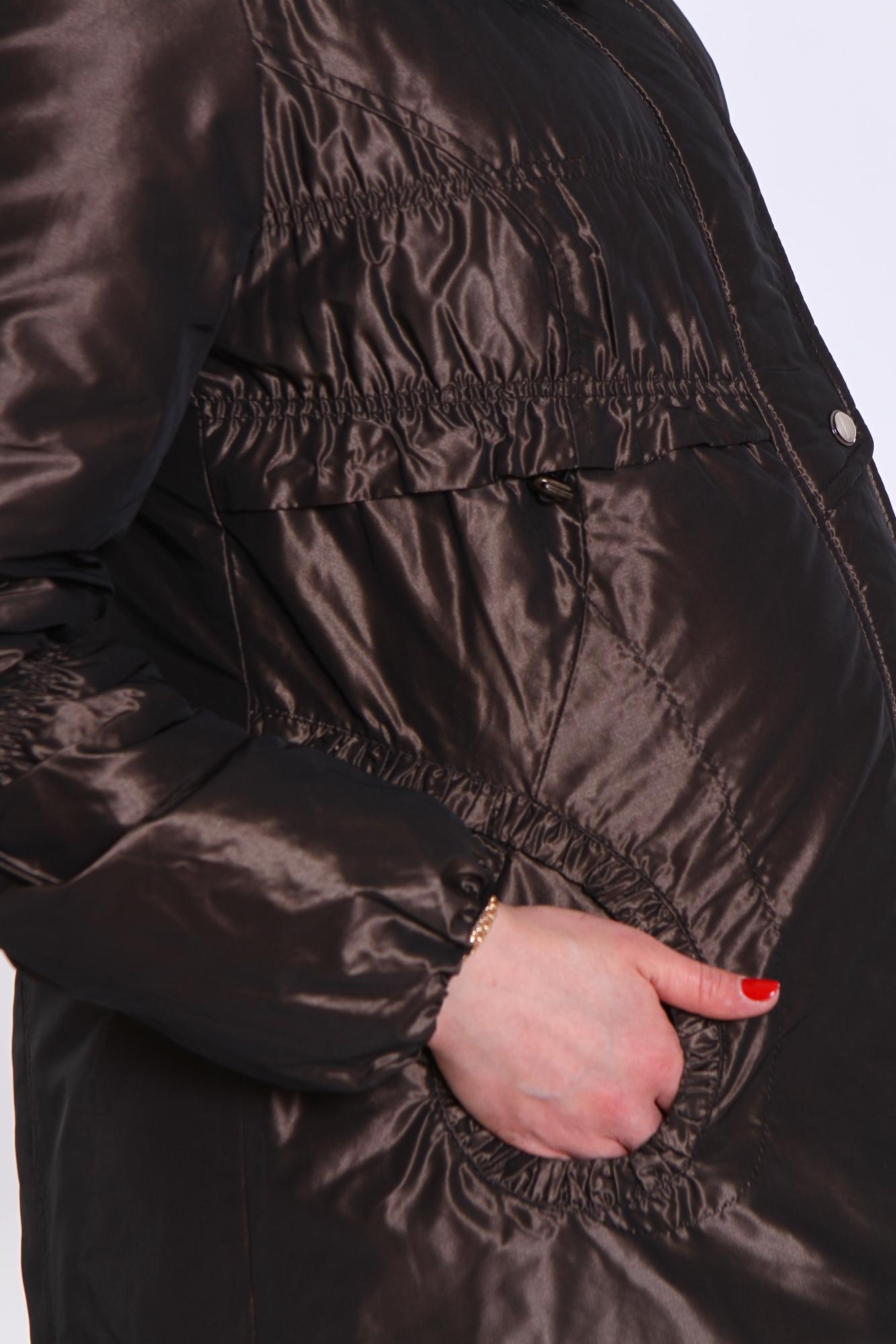 Куртка для беременных 05124 коричневый