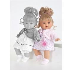 Munecas Antonio Juan Озвученая кукла Леонора в розовом, 33 см (1334P)